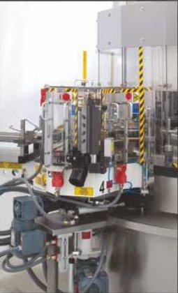 Etykieciarka modular plus - stacja w kształcie półwyspu w wersji specjalnej z autoregulacją