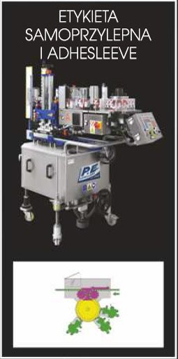 Etykieciarka modular top - etykieta samoprzylepna i adhesleeve