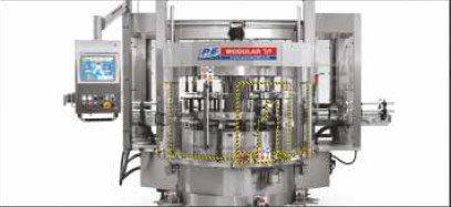 Etykieciarka modular top - karuzela centralna bez agregatów mobilnych