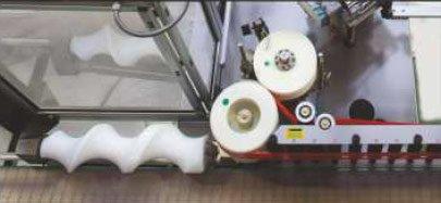 Etykieciarka splendid - Wersja przeznaczona do pracy z 10 l opakowaniem cylindrycznym